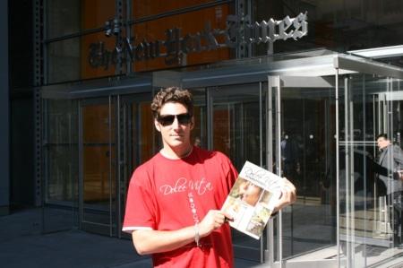 Matteo, Dolce Vita e la sede del New York Times