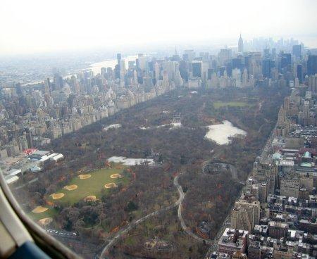 Veduta aerea di Central Park