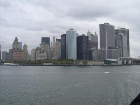 Manatthan vista da Staten Island