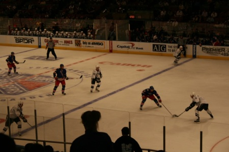 Hockey NHL in the Madison Square Garden