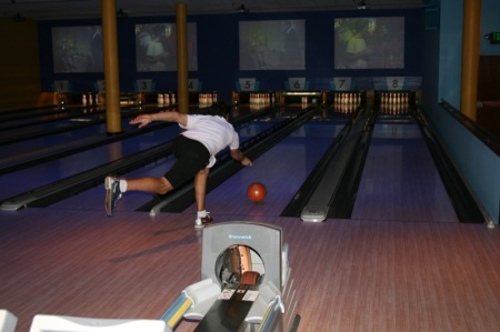 Sir bowling style