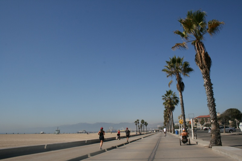 lungo mare di Venice Beach