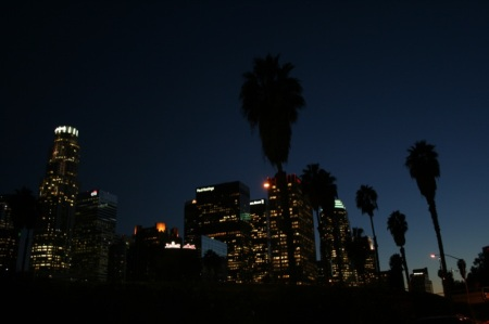 L.A. by night