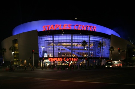 lo Staples Center di L.A.