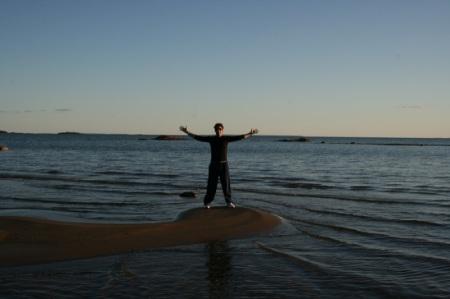 Sir in the lake