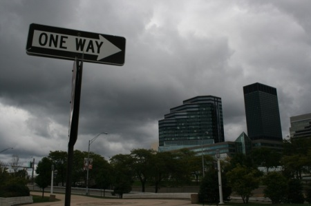One way... Cleveland
