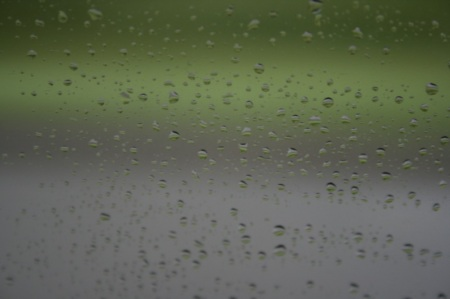 Rain on the window