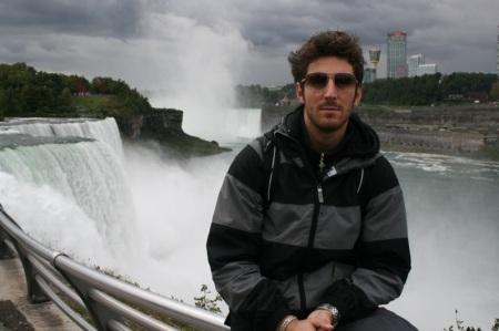 Sir sopra le Cascate del Niagara