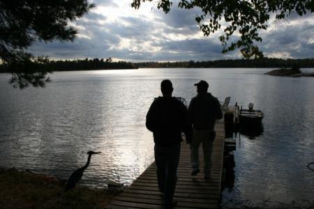Lago canadese