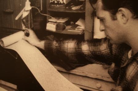 Jack Kerouac al lavoro