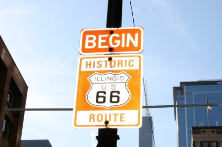Il punto di partenza della Route 66