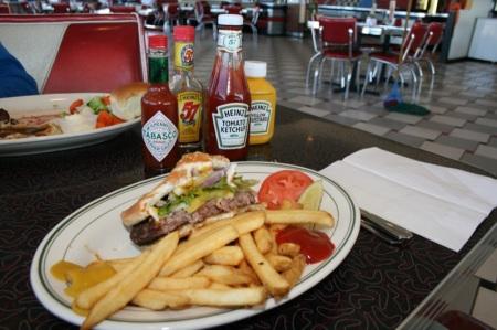 New Mexico 66 Burger