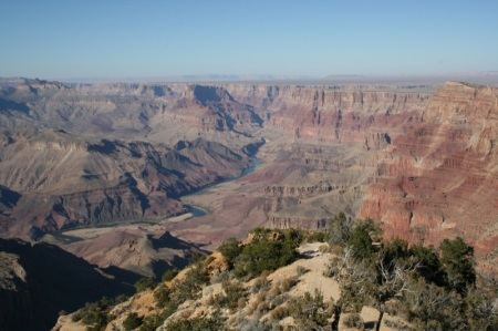 Grand Canyon visto dalla Desert View