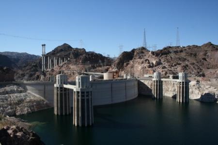 la diga Hoover Dam