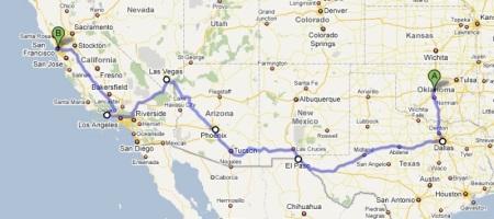L itinerario originale