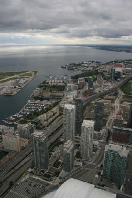 Toronto dalla Cn Tower