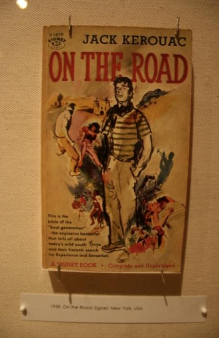 Una delle prime edizioni di On The Road, del 1959