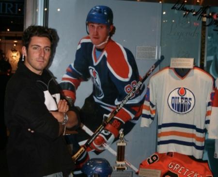 Sir e Wayne Gretzky