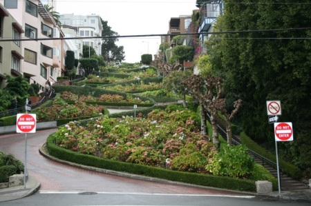 un tratto di Lombard St.