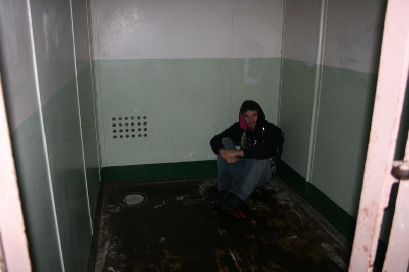 Sir in una cella d isolamento