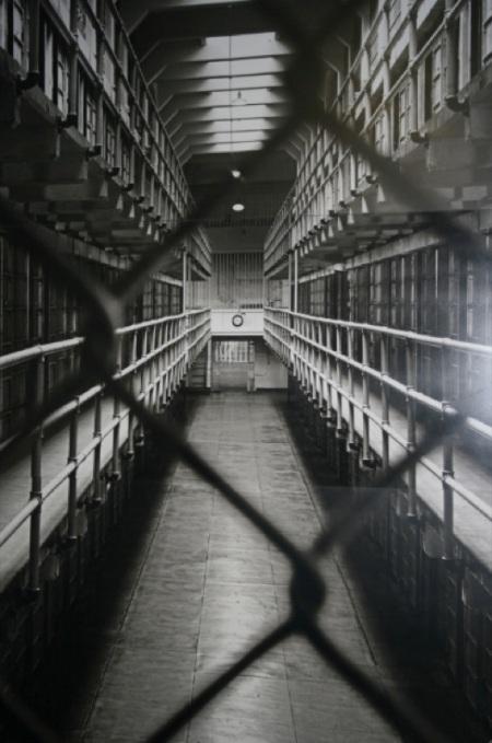 il corridoio centrale di Alcatraz